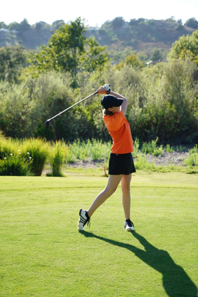golf swing posture and breathing