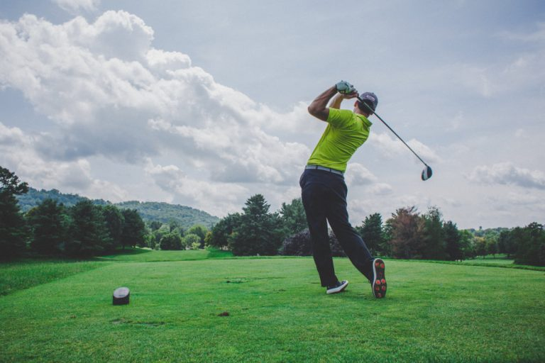 improve golf swing with breathing